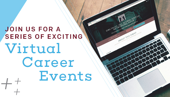 <!--Virtual Career Events-->