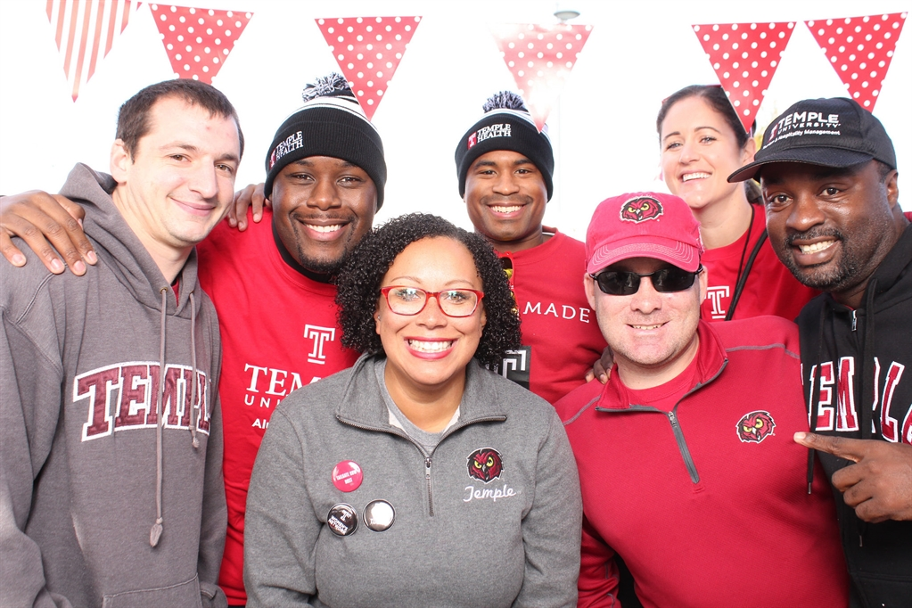 Philadelphia Chapter of the TUAA at Homecoming
