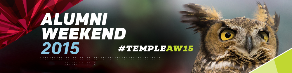 Alumni Weekend 2015  #TempleAW15  Register Now